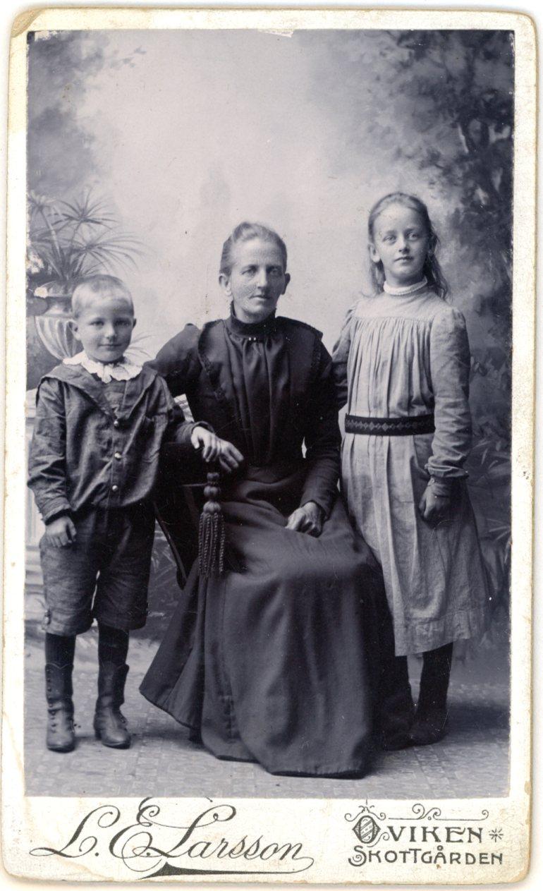 Kristina med barn154